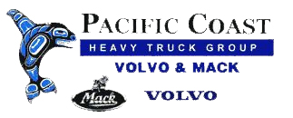 Pacific Coast Heavy Truck Group is your dealer for Mack, Volvo, and Mitsubishi Fuso Trucks.